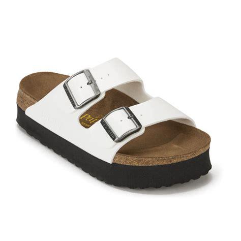 birkenstock platform sandals birkenstock papillio s arizona slim fit patent