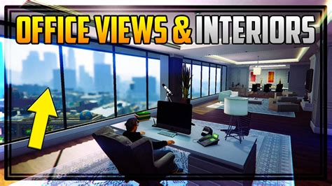 Design A Garage Online For Free gta 5 all office views entrances amp interiors how to