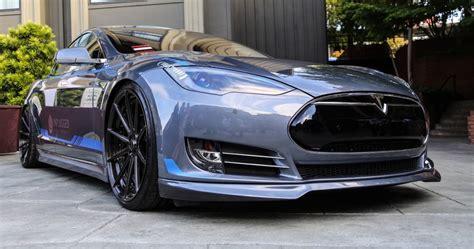 Tesla Unplugged Unplugged Performance Debuts Tesla Model S Kit