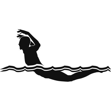Butterfly Stroke Black silhouette swimmer butterfly pictures to pin on pinsdaddy