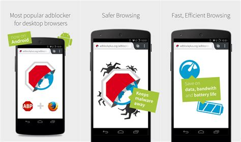 adblock on android adblock plus launches adblock browser firefox for android with built in ad blocking