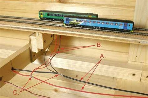 model railway track wiring rr track wiring the basics of power wiring on