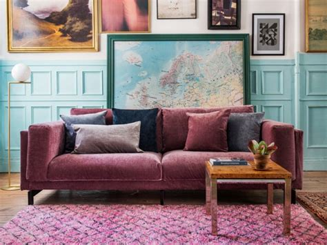 pink sofa australia 8 sustainable stylish ways to reinvent your living room