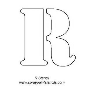 letter stencils template alphabet letter stencils