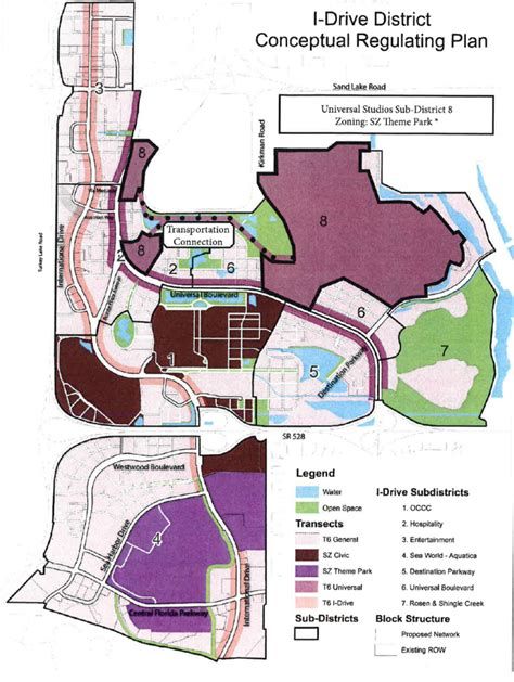 theme park zoning universal seeks to add eighth new district to i drive