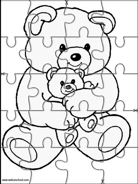 printable daily puzzle animals puzzle to cut out 11