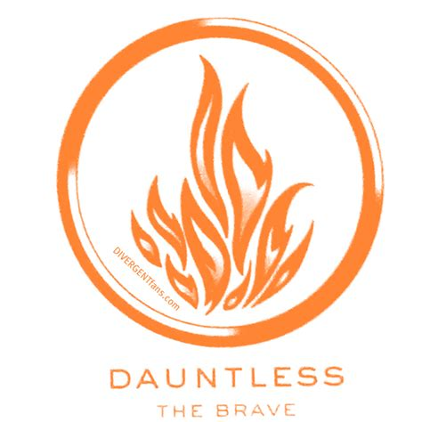 dauntless tattoo divergent faction symbol for dauntless is revealed