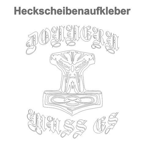 Lkw Aufkleber Odin by Wetterfest Aufkleber Donnern Muss Es Wikinger Thors Hammer