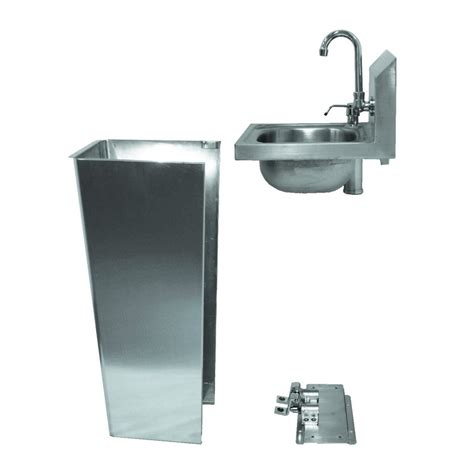 Foot Operated Faucet Foot Operated Hand Sink With Faucet Amp Soap Dispenser Gsw