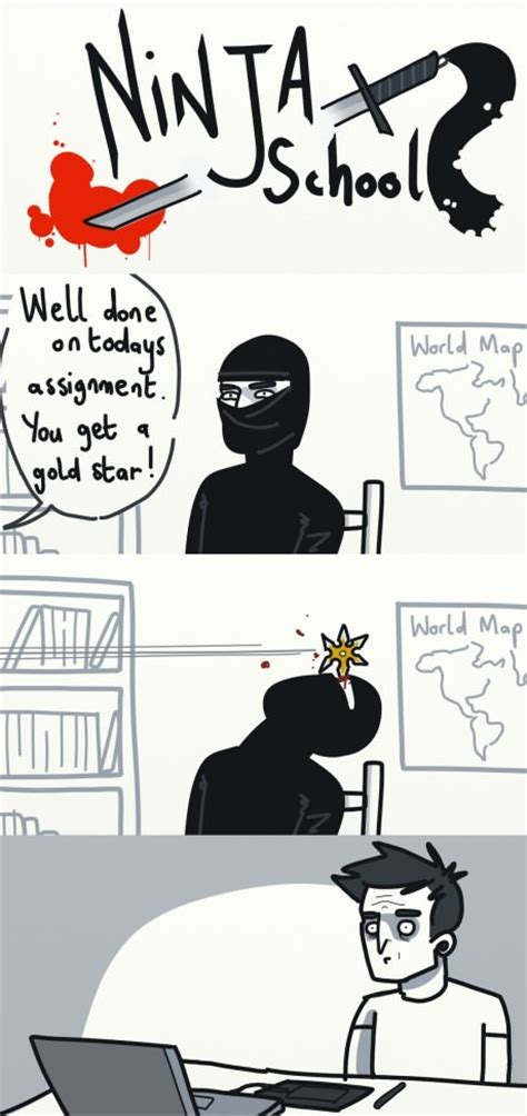 Ninja Meme - ninja school meme by meme time memedroid