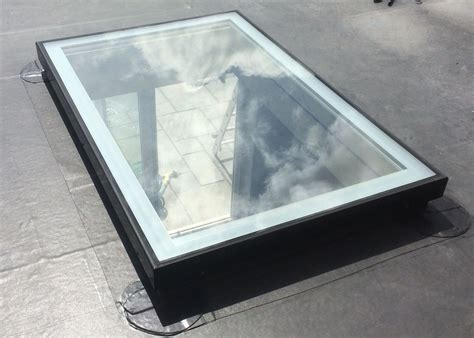 Flat Glass Rooflight Rectangular Rooflights And Glazing Lights For Roof