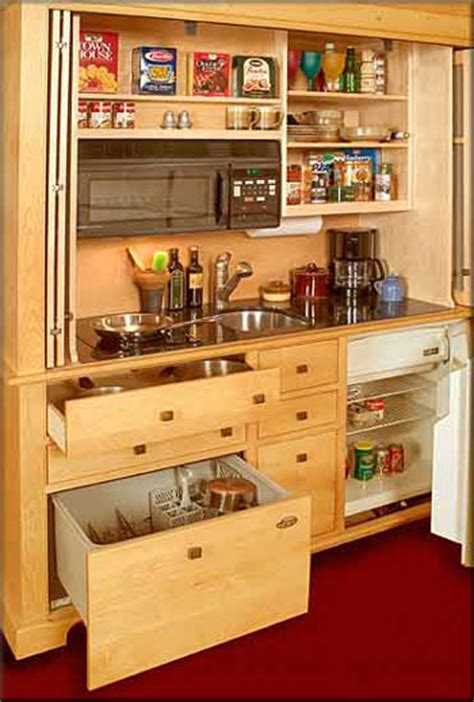 Armoire In Kitchen by Small Space Living