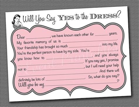 will you be my bridesmaid templates 7 best images of printable bridesmaid cards will you be