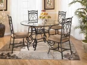 round glass dining room table glass dining room tables