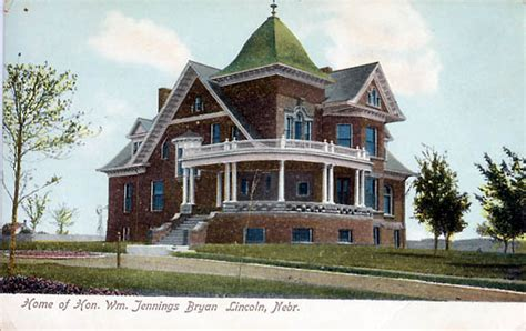 william jennings bryan house lincoln nebraska wikiwand penny postcards from lancaster county nebraska