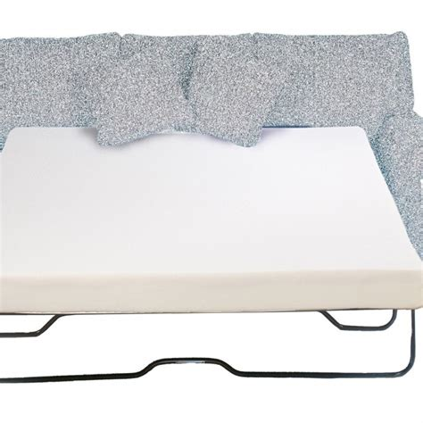 sofa bed with foam mattress memory foam sofa mattress 4 5 inch