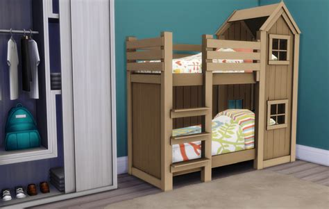 bunk beds for 4 my sims 4 blog mattresses for toddler bunk beds by