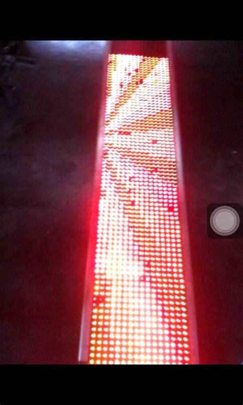 membuat lu led tulisan dot matrix buatan korea ukuran 50 x 200 cm blog virzya