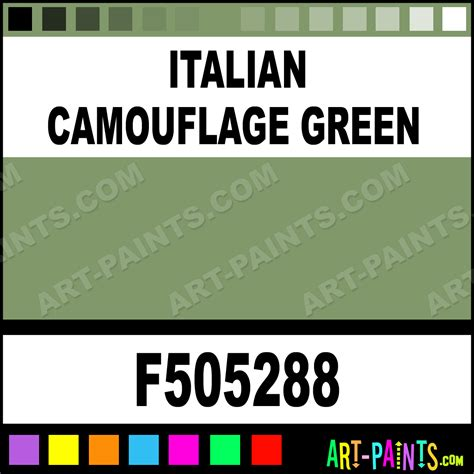 italian camouflage green model metal paints and metallic paints f505288 italian
