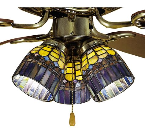 meyda tiffany ceiling fan light kit meyda 27466 tiffany candice fan light shade