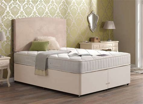 dream bed mattress sigma pocket spring mattress and classic divan bed beige