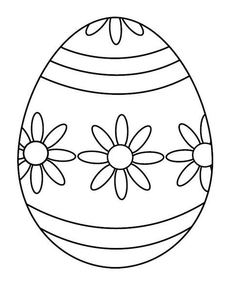 decorare oua paste copii ou decorat cu flori de primavara plansa de colorat