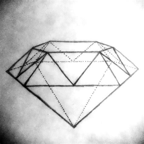diamond tattoo geometric geometric diamond tattoo design