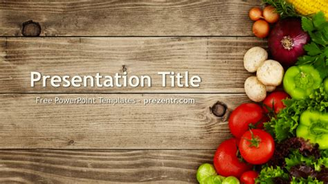 free powerpoint templates food free nutrition powerpoint template prezentr