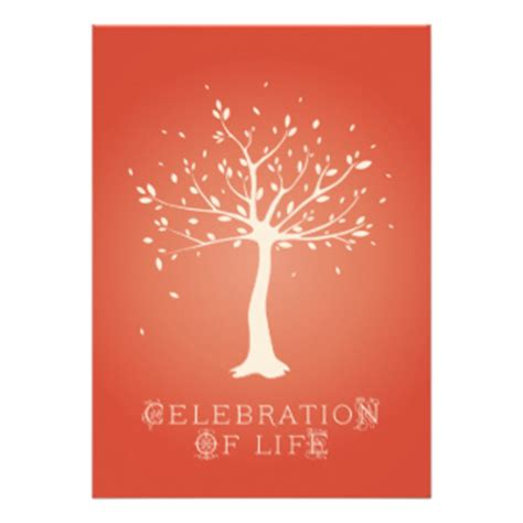 Celebration Of Life Cards Celebration Of Life Card Templates Postage Invitations Photocards Celebration Of Cards Templates Free