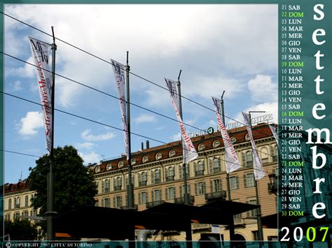 Calendario Torino Torino Per Un Anno Calendario 2007