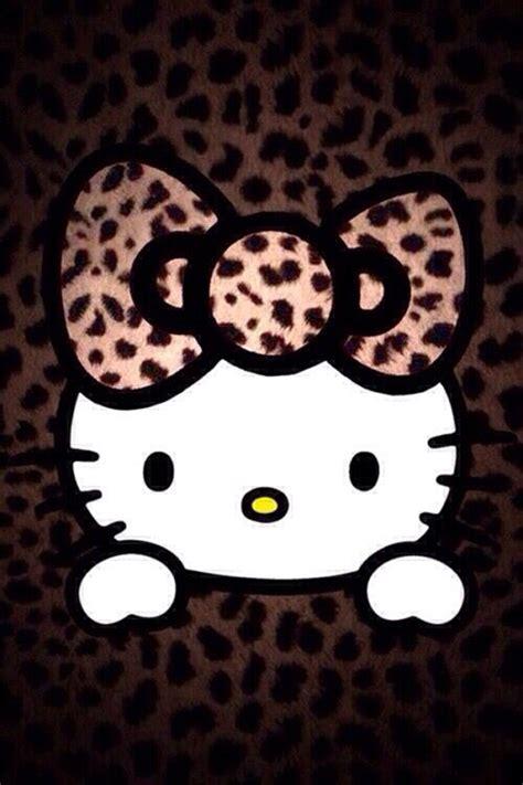 Cp Sanriowhite hello wallpaper iphone animal print hello animals animal prints and