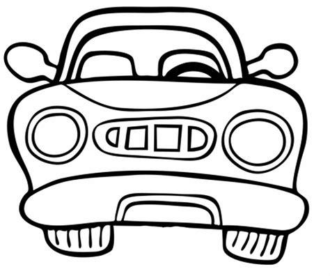 Auto Malen by Transportmittel Kostenlose Malvorlage Auto Vorne Kostenlos