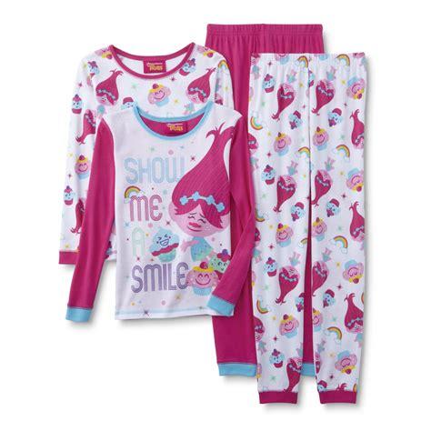 Pajamas Big Tsum dreamworks trolls 2 pairs sleeve pajamas