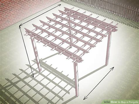 where to buy pergola how to buy a pergola with pictures wikihow