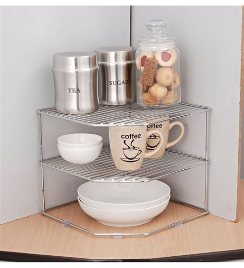 Kitchen Shelf Organisers Uk Buy Disha Metal Plate Rack Shelves Racks