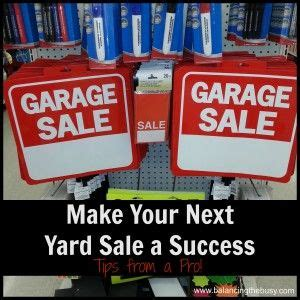 Garage Saling Tips by Yard Sales Yards And Make Your On