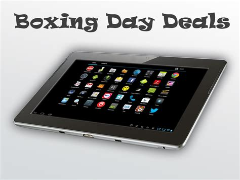 best tablet boxing day deals sales 2017 best boxing