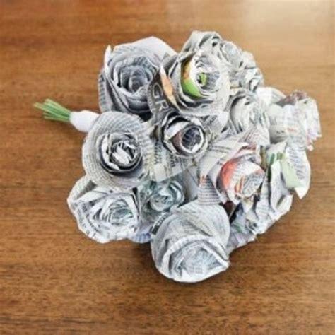 Cara Membuat Bunga Dari Kertas Koran | 30 cara mudah membuat kerajinan tangan dari barang bekas