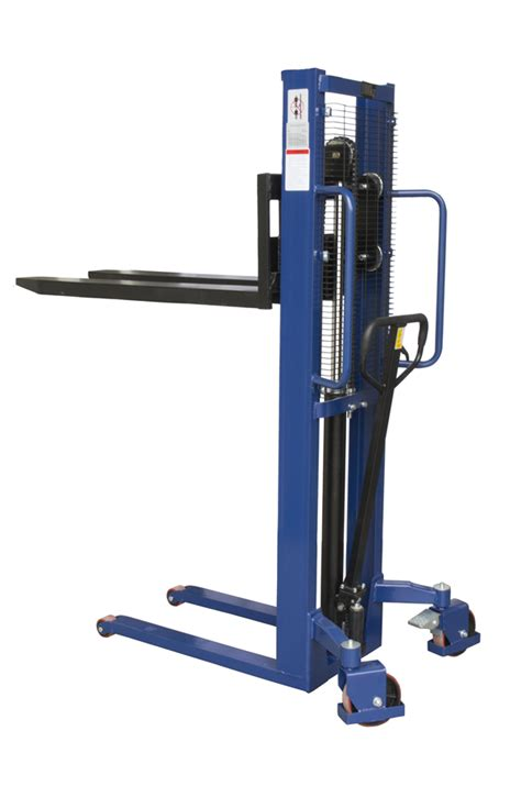 Liftrer Stacker Manual 1000 1000kg manual stacker truck 1600mm lift height stack