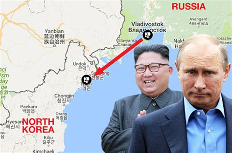 is russia running a secret supply route to arm syrias north korea sanctions russia helping kim jong un s