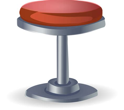Transparent Bar Stools by Clipart Stool