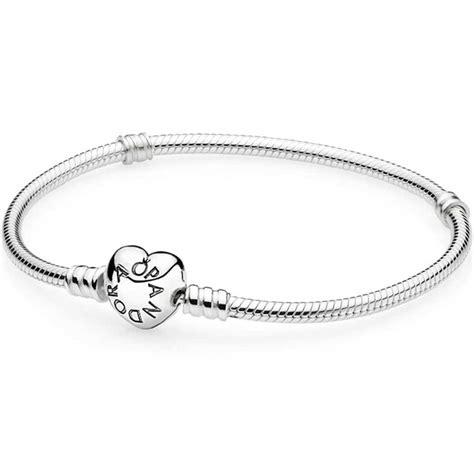 pandora silver clasp bracelet 590719 the hut