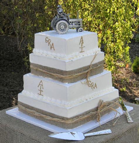 Burlap Wedding Decorations for Sale   cake designs for