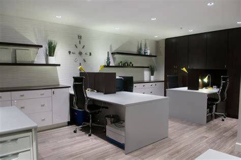 modern home office current interior design from wallflower boutique modern