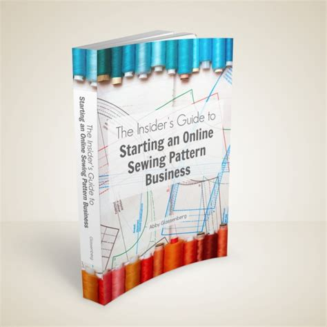 pattern making ebooks the insider s guide to starting an online sewing pattern