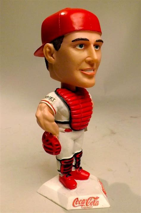 nancy b bobblehead collectible st louis cardinals mike matheny 22 coca cola
