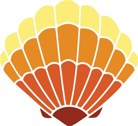 clipart graphics free free clipart of a scallop sea shell
