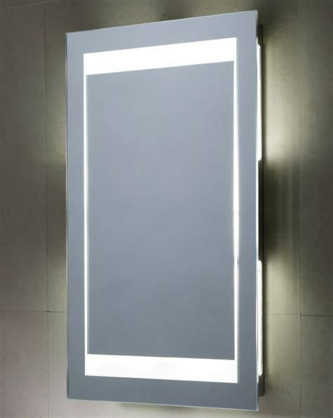back lit bathroom mirror tavistock mood backlit bathroom mirror 450 x 700mm