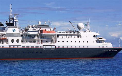 silversea cruises discoverer silversea s silver discoverer cruise ship 2017 and 2018