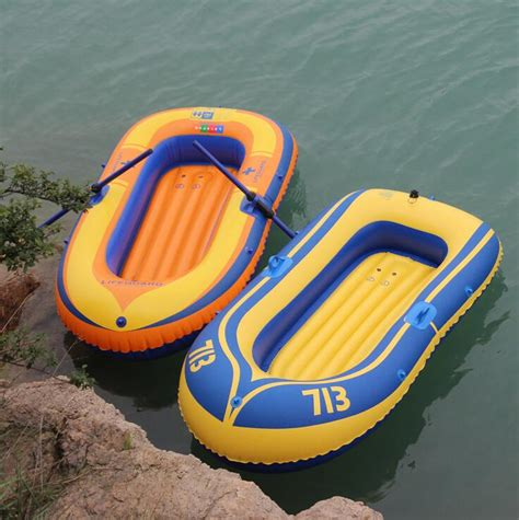 rubber boat inflatable boat double portable pvc inflatable boat rubber